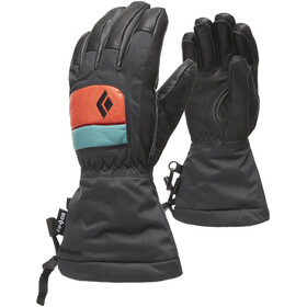 Black Diamond Spark Gloves Kids, caspian/rust